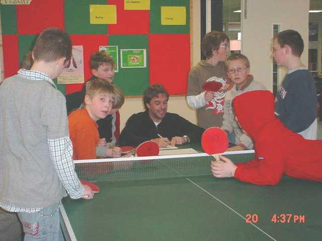 Tischtennis-Besprechung
