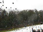 Luftballonaktion gegen G8 25.02.2010